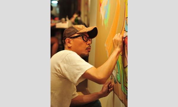 NEWoMan 1Day School「門 秀彦」巨大キャンパスに心で描く落書きアート イベント画像1
