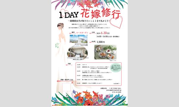1DAY花嫁修業  〜結婚前女子が知りたいこと1日で丸かじり〜 イベント画像1