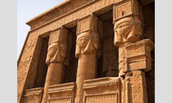 【お部屋からTRIP:エジプト】古代人が電球?クレオパトラ7世のレリーフ!魅惑のデンデラ神殿複合体【ハトホル神殿】 イベント画像2