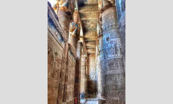 【お部屋からTRIP:エジプト】古代人が電球?クレオパトラ7世のレリーフ!魅惑のデンデラ神殿複合体【ハトホル神殿】 イベント画像3