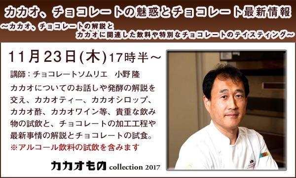 カカオ、チョコレートの魅惑とチョコレート最新情報 in兵庫イベント