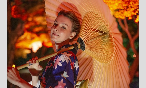 HAPPO-EN Tokyo Red Garden【着物着付け体験(Kimono Experience)】 イベント画像1
