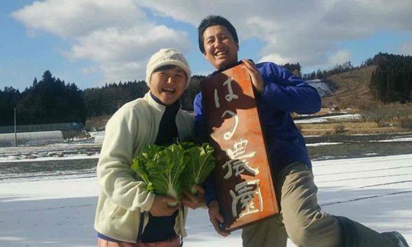 青森はる農園さんの自然栽培食材たっぷり特別メニューを愉しむ イベント画像1
