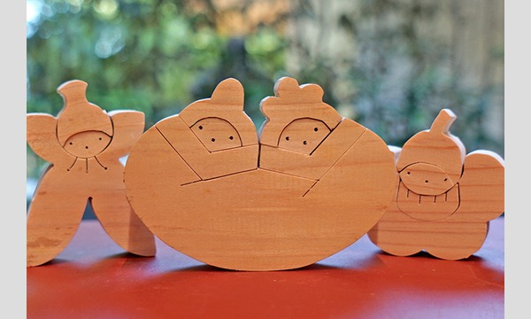 《中止》 竹中大工道具館 組み木パズルのひな人形をつくろう イベント画像2