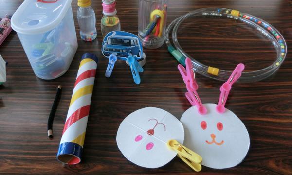 8/14(土)オンラインおもちゃゼミナール「身近な素材で手作りおもちゃ」 イベント画像1