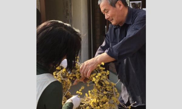 二名良日の春の花のリースのワークショップ2020@秩父皆野ムクゲ自然公園 イベント画像1