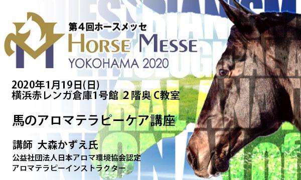第4回Horse Messe(ホースメッセ)特別講習会 馬のアロマテラピーケア講座 イベント画像1