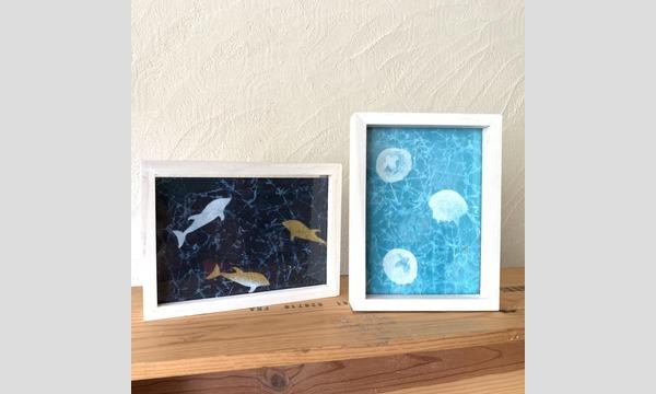 海遊館 おとなワークショップ ~もみ紙でつくる海の世界~ イベント画像3