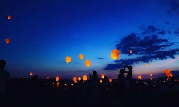 2021年の10月にスカイランタン祭りの開催をし、スカイランタンを打ち上げたい! イベント画像3