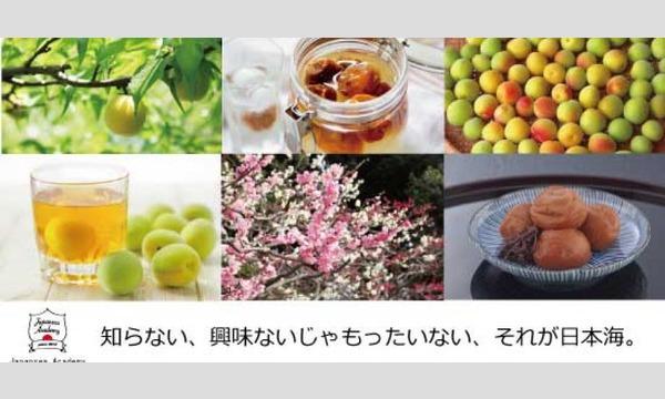 若狭から毎日の梅 ~梅と梅酒を味わう~ JSA #3 イベント画像1